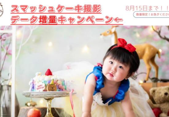 埼玉県狭山市のスマッシュケーキ撮影スタジオ